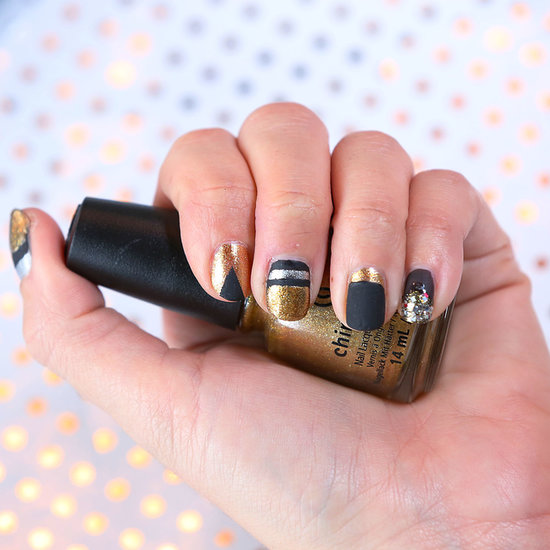 Video: DIY Metallic Nail Art Tutorial