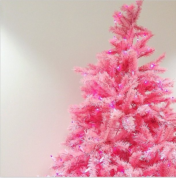 If Elle Woods had a Christmas tree, we're pretty sure it would look like this. Source: Instagram user benefitcosmetics