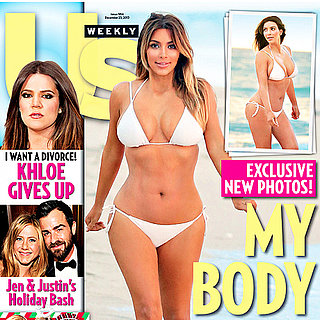Kim Kardashian Bikini Pictures After Baby