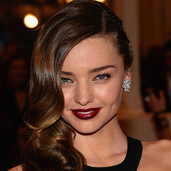 Celebrities Wearing Dark Red, Vampy, Dramatic Berry Lipstick