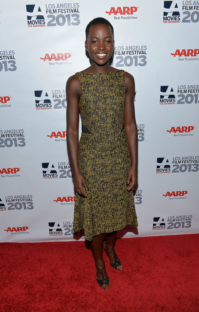 Lupita Nyong'o at the Los Angeles Premiere of 12 Years a Slave