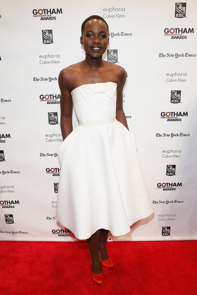 Lupita Nyong'o at the Gotham Independent Film Awards