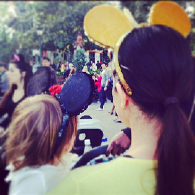 Kourtney Kardashian took Mason Disick to Disneyland for his birthday. Source: Instagram user kourtneykardash