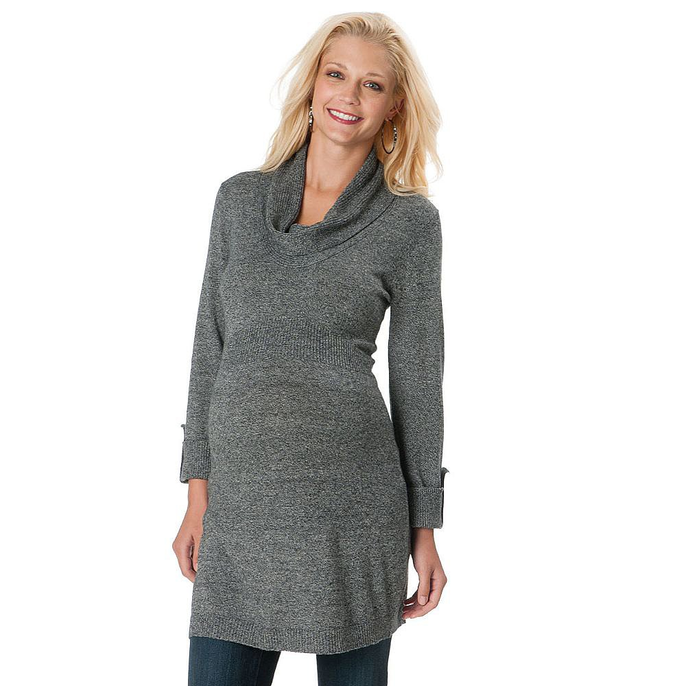 Oh Baby by Motherhood Ruched Sweater Tunic