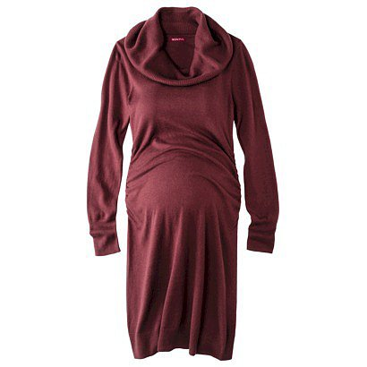 Merona Cowl-Neck Sweater Dress