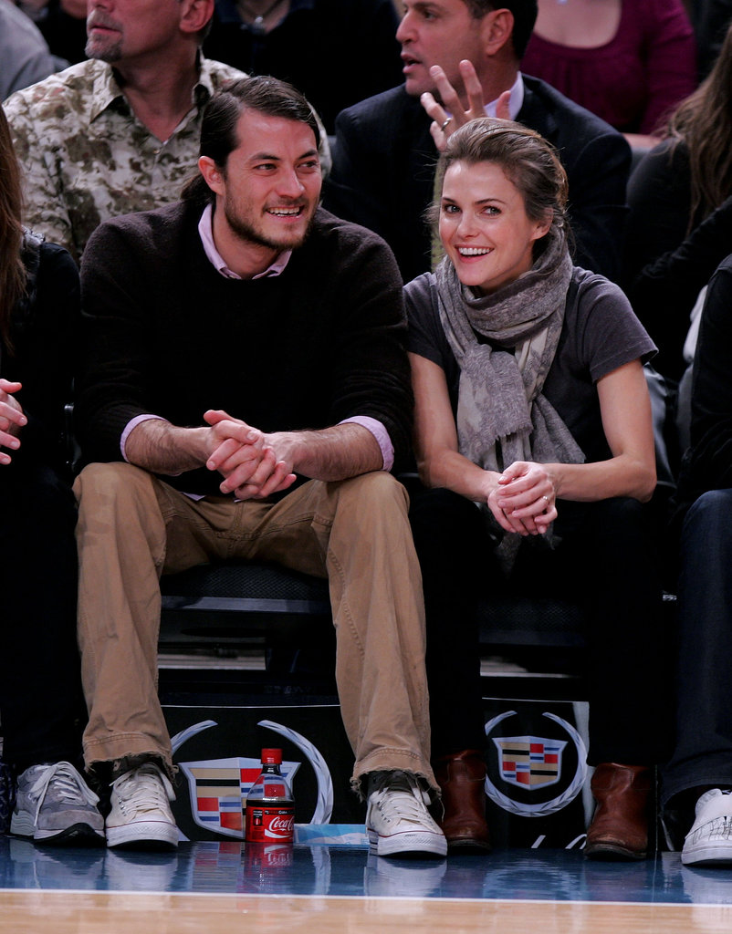 Keri Russell and Shane Deary