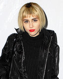 At one point a shocking decision, Miley's short pixie haircut became part of her reinvented persona in 2013. That's why so many fans were surprised when she seemingly grew her hair out overnight thanks to a short blond bob wig. Miley debuted the look on Instagram and later wore it to the KROQ Almost Acoustic Christmas event in LA on Dec. 7.
