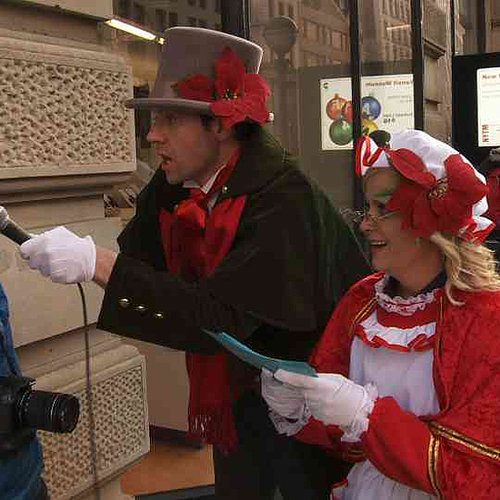 Amy Poehler Christmas Carol Ambush on Funny or Die | Video