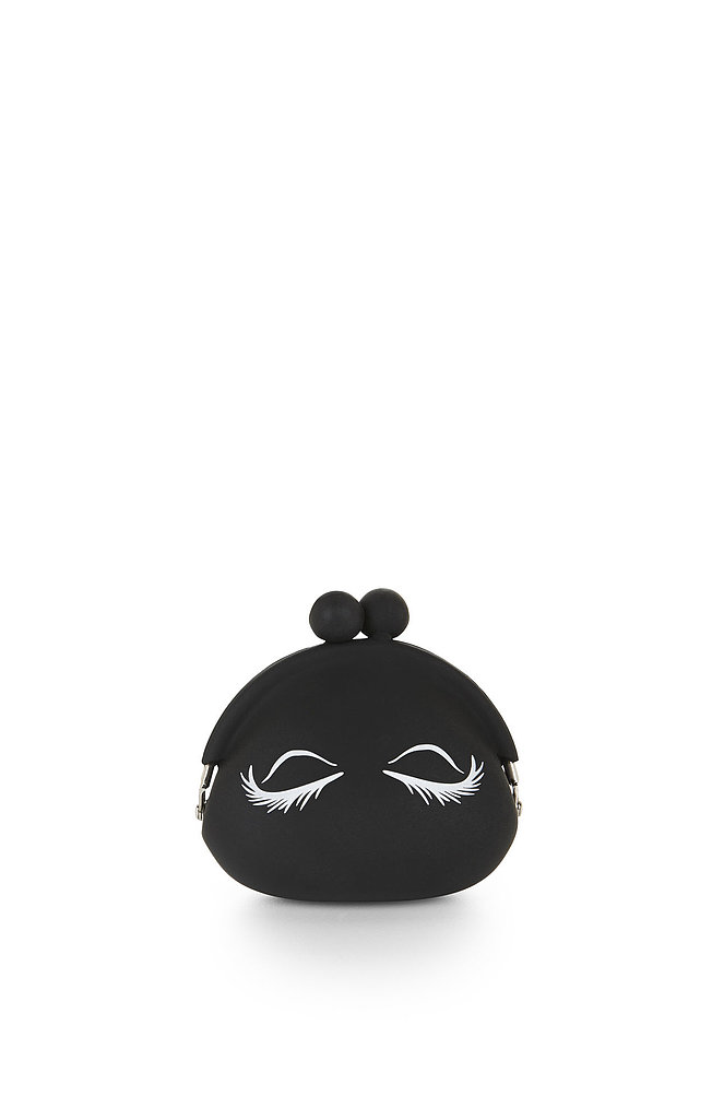 BCBG Max Azria's Eyelashes Silicone Coin Purse ($16) is perfect for stashing loose change or makeup.