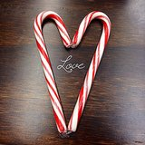 <h2>Candy Canes in Love!</h2>