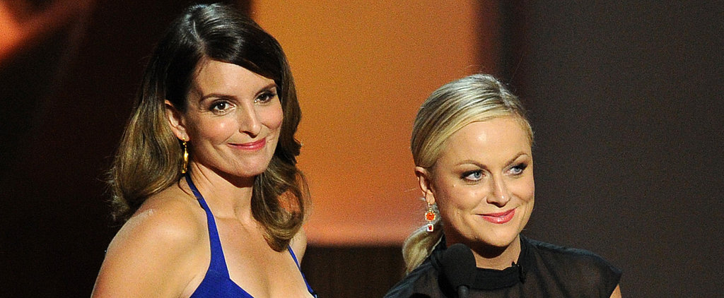 Watch Tina and Amy's Golden Globes Promos