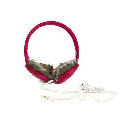 Plaid Headphone Earmuffs
