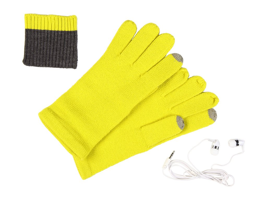 Echo Knit Touch Glove Plus Earphones