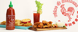 Game Day Recipes Receive a Spicy Sriracha Treatment