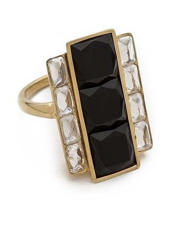 Kelly Wearstler Rexford Cocktail Ring ($225)