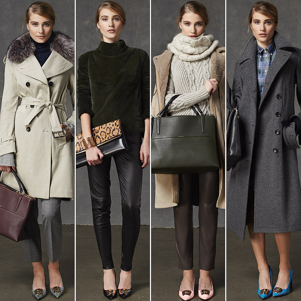Call Coach's cozy and chic collection the Winter lineup that launched a thousand tweets.  Photo courtesy of Coach