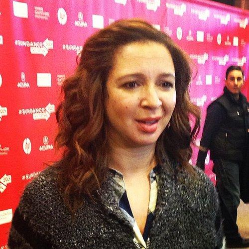 We had the pleasure of speaking with Maya Rudolph at Sundance.