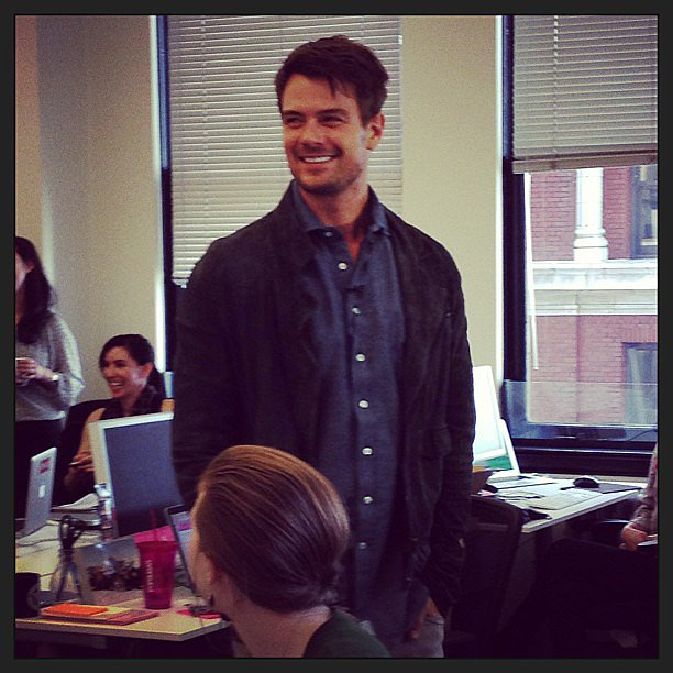 We had a very handsome visitor in our San Francisco office back in January.