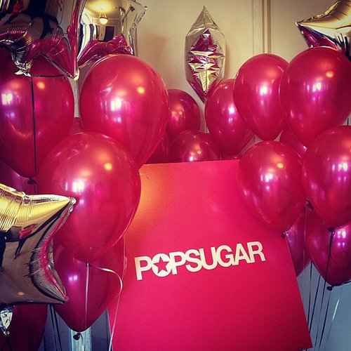 Fact: you can never have too many balloons, especially at POPSUGAR.