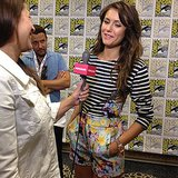 Nina Dobrev looked absolutely gorgeous at Comic-Con this year!