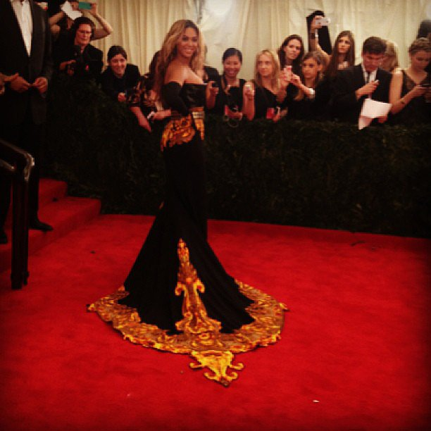 Beyoncé wore a showstopping gown to this year's Met Gala.