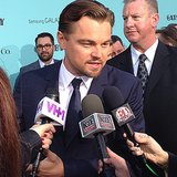 Leonardo DiCaprio and that Tiffany-blue background were a match made in heaven.