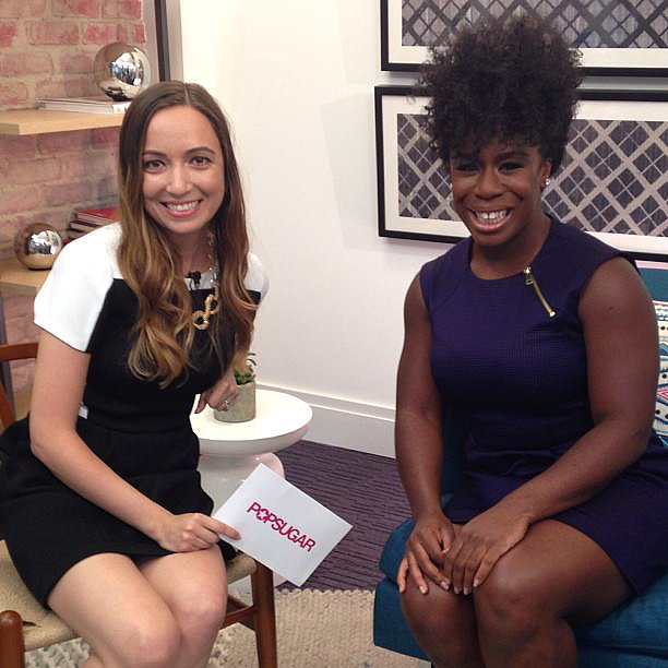 We absolutely loved getting to sit down with Orange Is the New Black star Uzo Aduba.