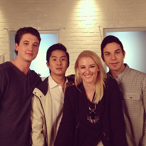 We squeezed in a little casual hangout time with Skylar Astin and Miles Teller of 21 and Over.