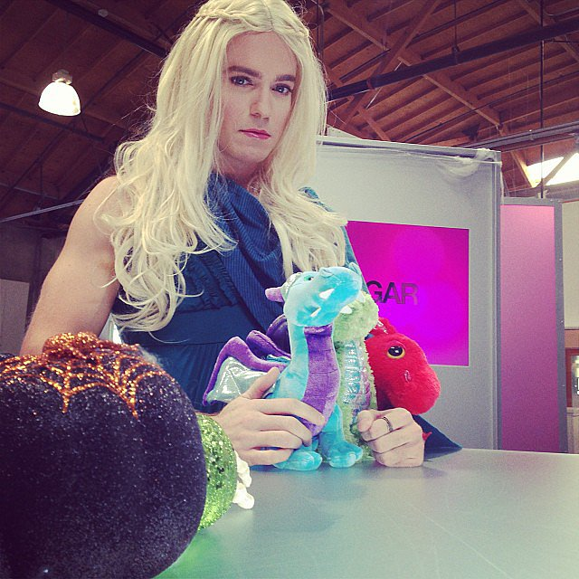 We were lucky enough to have the Mother of Dragons herself host our very special Halloween edition of POPSUGAR Live!