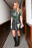 Jessica Hart at Charlotte Ronson's holiday party.