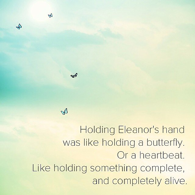 Such a great quote from Eleanor & Park by Rainbow Rowell. Source: Instagram user popsugarlove