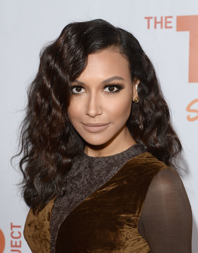 Adding big crimps to your hair like Naya Rivera did earlier this week will give you instant volume. Also, the gold shadow on her inner eyes added a touch of shimmer without going over the top!