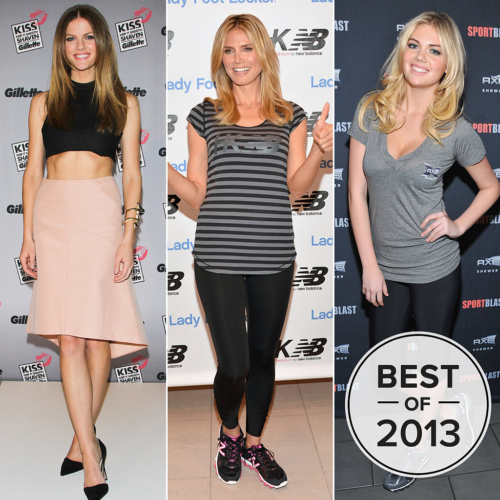 Strong and Sexy: Our Favorite Fit Models of 2013
