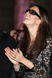 Kate Middleton wore 3D glasses for British naturalist David Attenborough's Natural History Museum Alive 3D film screening in London.