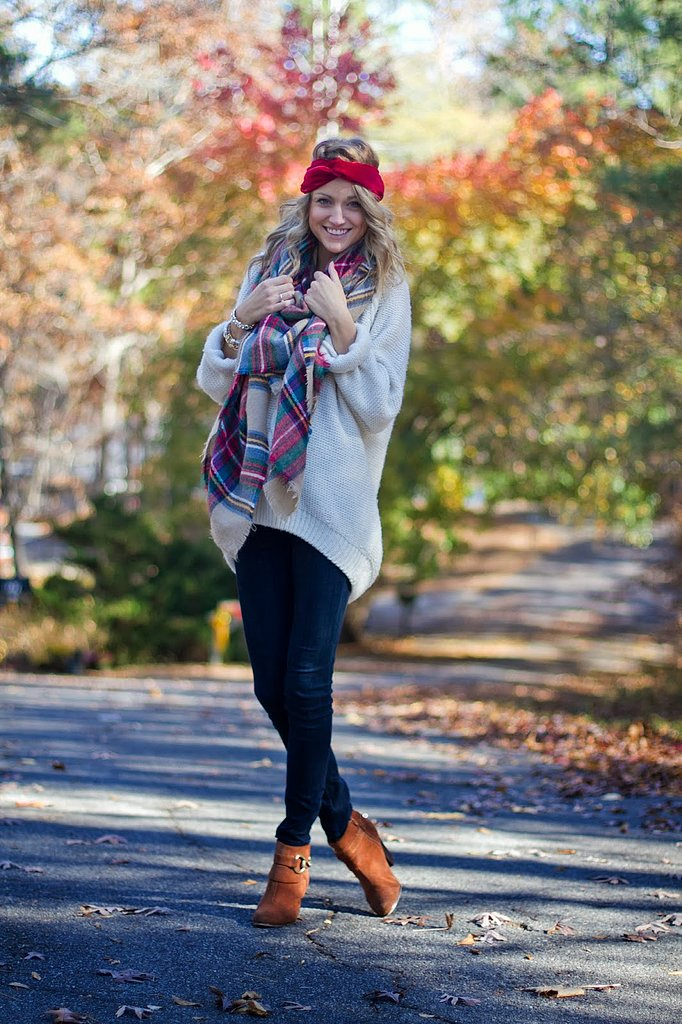 Congrats, LittleBlondeBook! Who doesn't love a cozy tartan look?