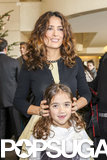 Salma Hayek and her daughter, Valentina, bonded at an event in Paris.
