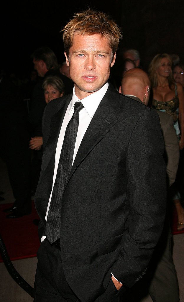 Brad Pitt looked impossibly sexy on the red carpet at the Palm Springs International Film Festival in January 2007.