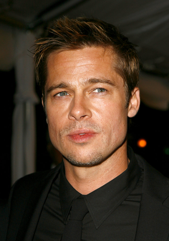 Brad Pitt gave us his signature steely gaze at the Toronto International Film Festival screening of Babel in September 2006.
