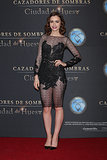 Lily Collins at the The Mortal Instruments Premiere