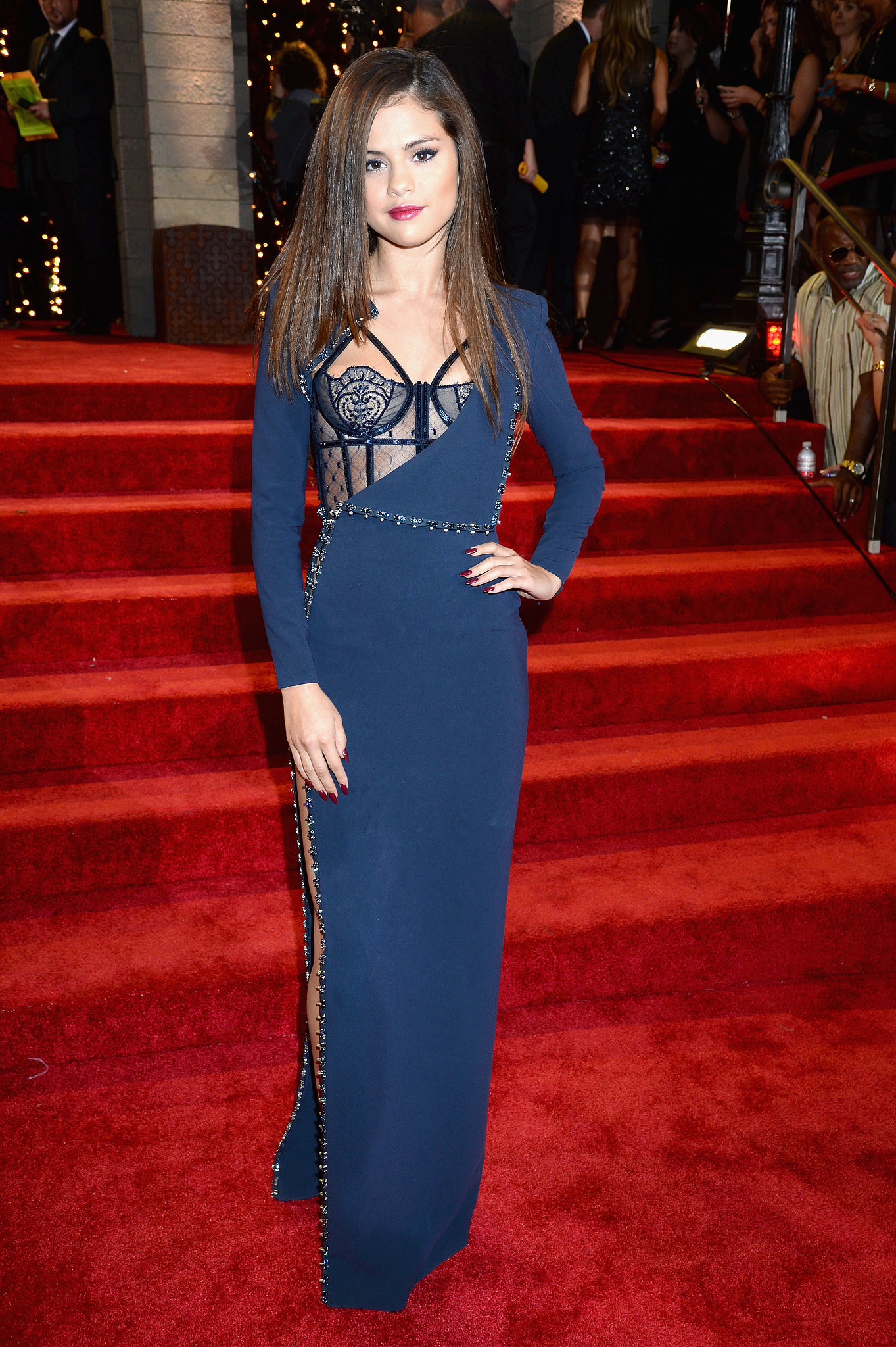 selena gomez at the mtv video music awards the sexiest