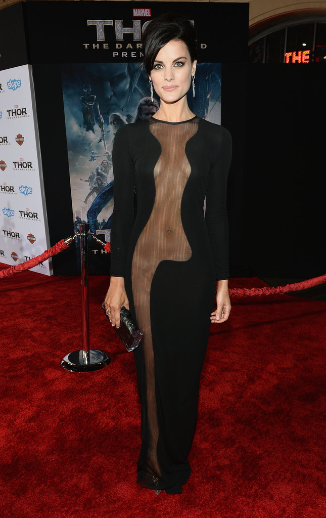 Jaimie Alexander at the Thor: The Dark World Premiere