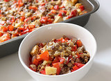 Red Pepper Lentil Bake