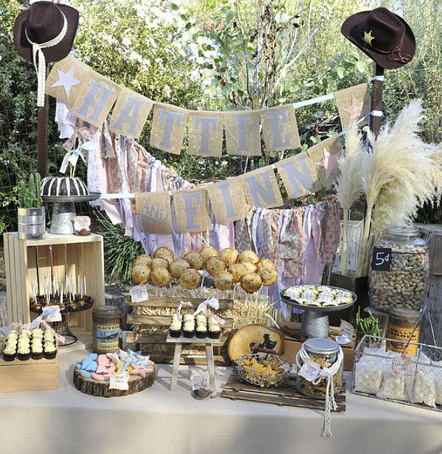 The amazing dessert table by Bittersweet Treats!