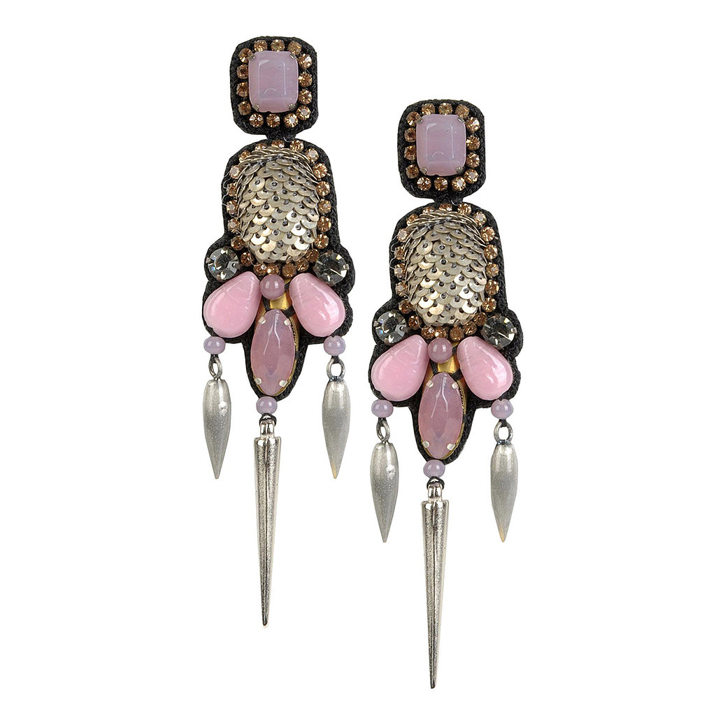 Think sequins can't be edgy? These Deepa Gurnani earrings ($126) may change your mind.
