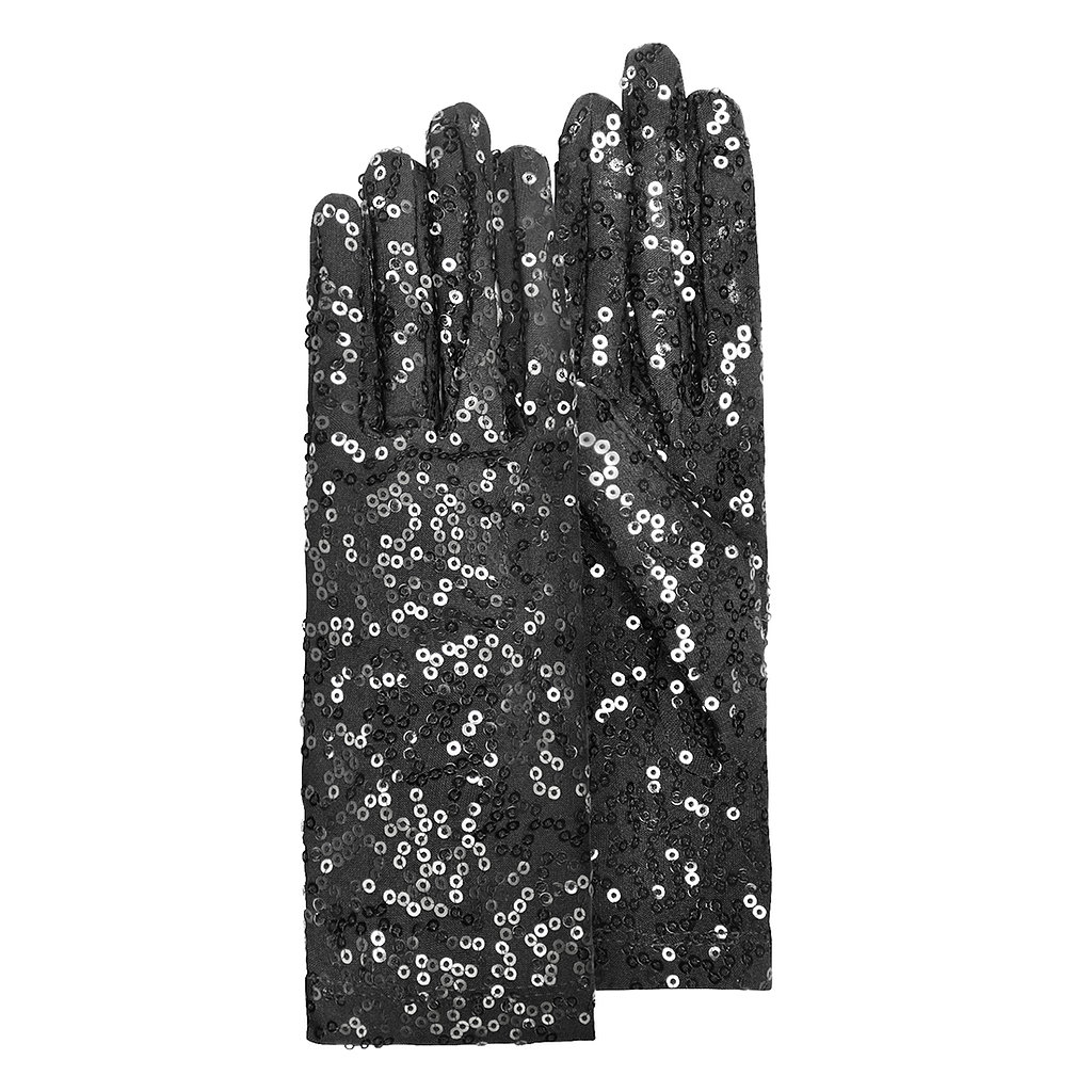 Bring on the drama with a pair of Forzieri sequined gloves ($75).