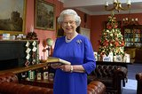 Queen Elizabeth II shared her annual Christmas Day message in 2003.