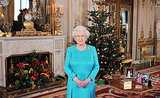 In 2009, Queen Elizabeth posed before delivering her Christmas Day broadcast to the Commonwealth.