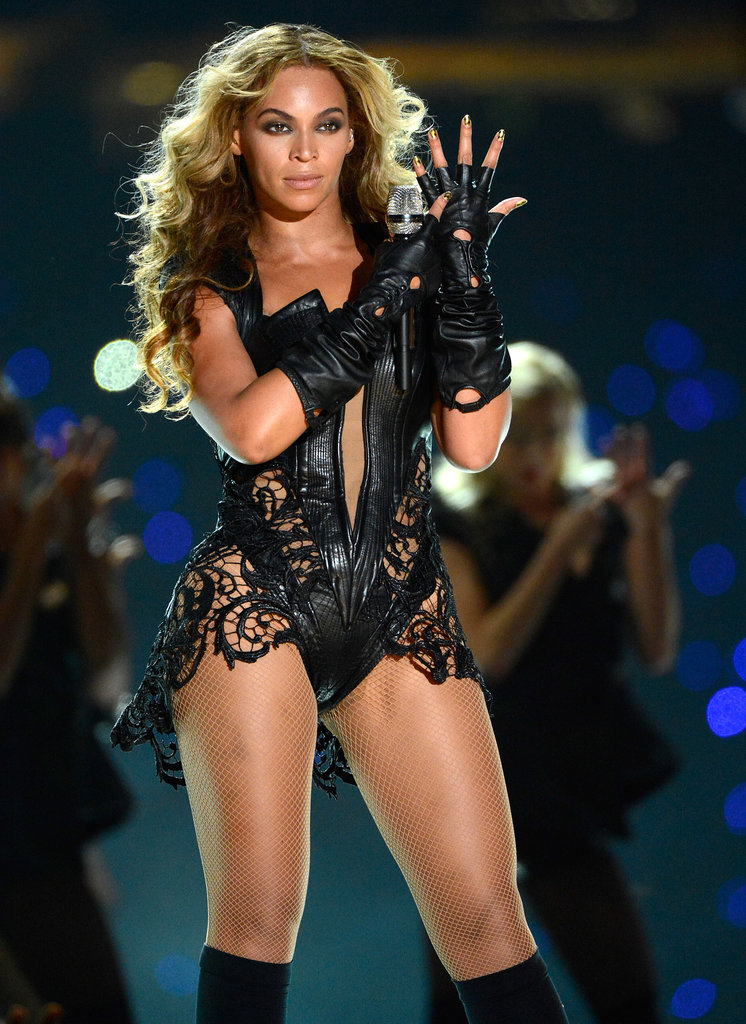February during her Super Bowl XLVII halftime show.