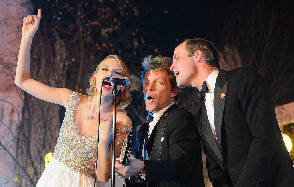 Prince William, is that you with Taylor Swift and Jon Bon Jovi?