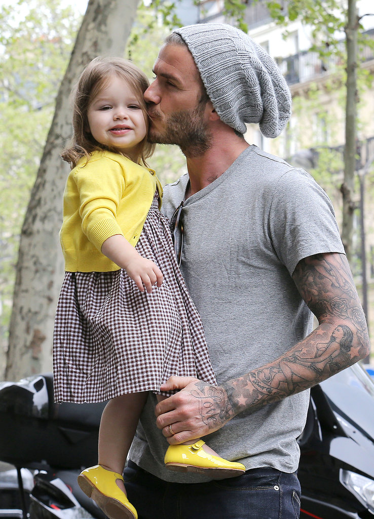 David and Harper were the picture-perfect pair during a Parisian shopping trip back in May.